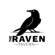 This is the restaurant logo for The Raven Tavern