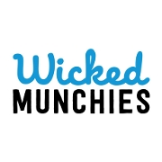 This is the restaurant logo for Wicked Munchies