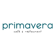 This is the restaurant logo for Primavera Cafe and Restaurant