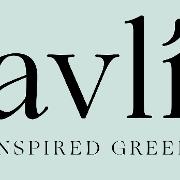 This is the restaurant logo for Avli Estiatorio