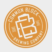 This is the restaurant logo for Common Block Brewing Co-