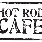 This is the restaurant logo for Hot Rod Cafe - New London