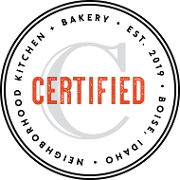 This is the restaurant logo for Certified Kitchen + Bakery