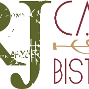 This is the restaurant logo for RJ Cafe & Bistro