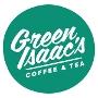 Restaurant logo for Green Isaac's Coffee & Tea