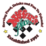 This is the restaurant logo for Niffers Place