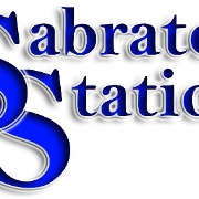 This is the restaurant logo for SABRATON STATION
