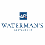 This is the restaurant logo for Waterman's Restaurant