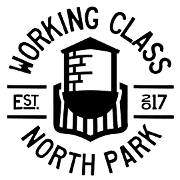 This is the restaurant logo for Working Class