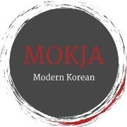 This is the restaurant logo for Mokja