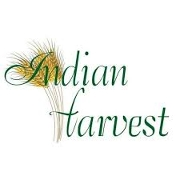 This is the restaurant logo for Indian Harvest