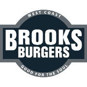 This is the restaurant logo for Brooks Burgers