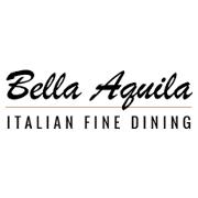 This is the restaurant logo for Bella Aquila Restaurant