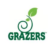 This is the restaurant logo for GRAZERS Restaurant