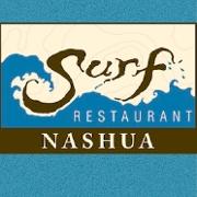 This is the restaurant logo for Surf Restaurant