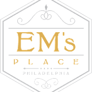 This is the restaurant logo for Em's Place