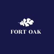 This is the restaurant logo for Fort Oak Restaurant