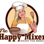 This is the restaurant logo for The Happy Mixer Bakery - Chalfont