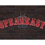 This is the restaurant logo for Speakeasy