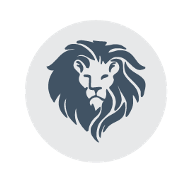This is the restaurant logo for Lost Lion