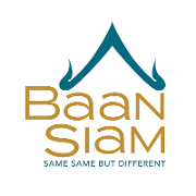 This is the restaurant logo for Baan Siam