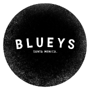 This is the restaurant logo for Blueys Kitchen