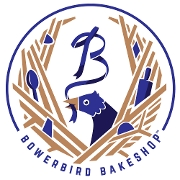 This is the restaurant logo for Bowerbird Bakeshop