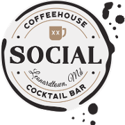 This is the restaurant logo for Social Coffeehouse & Cocktail Bar
