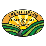 This is the restaurant logo for Fresh Fields Cafe & Deli