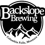 This is the restaurant logo for Backslope Brewing