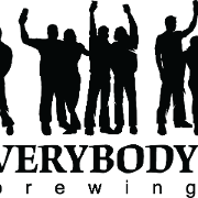 This is the restaurant logo for Everybody's Brewing