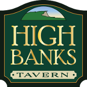 This is the restaurant logo for High Banks Tavern