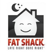 This is the restaurant logo for Fat Shack