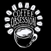 This is the restaurant logo for Coffee Obsession
