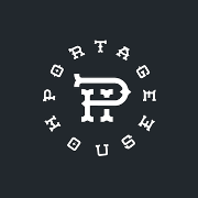 This is the restaurant logo for Portage House