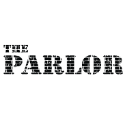 This is the restaurant logo for The Parlor