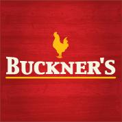 This is the restaurant logo for Buckner's Family Restaurant
