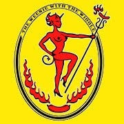 This is the restaurant logo for O'Betty's Red Hot!!