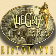 This is the restaurant logo for Allegria Italiana