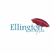 This is the restaurant logo for Ellington in the Park