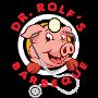 Restaurant logo for Dr. Rolf's Barbeque