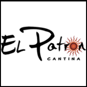 This is the restaurant logo for El Patron Cantina