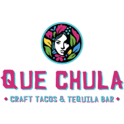 This is the restaurant logo for Que Chula