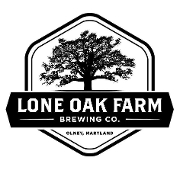 This is the restaurant logo for Lone Oak Farm Brewing Company