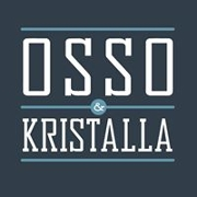 This is the restaurant logo for Osso & Kristalla