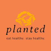 This is the restaurant logo for Planted