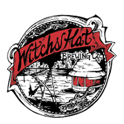 This is the restaurant logo for Witch's Hat Brewing Company