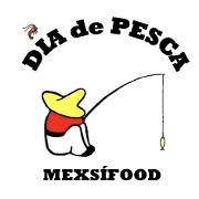 This is the restaurant logo for Dia de Pesca