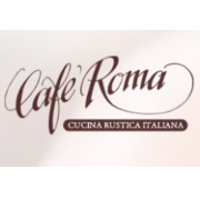 This is the restaurant logo for Cafe Roma - SLO