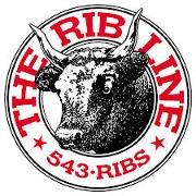 This is the restaurant logo for Rib Line BBQ Los Osos